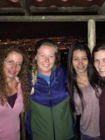 Kayleigh (on the far right) in Costa Rica
